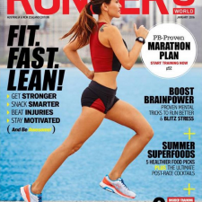 January 2016 Runner's World Cover